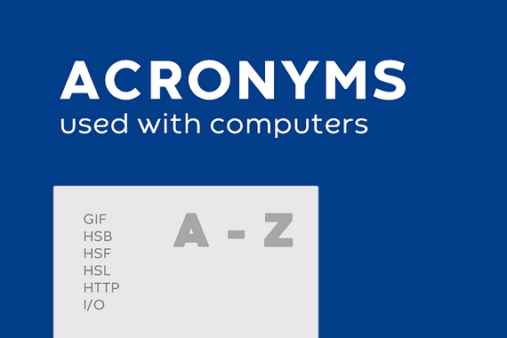 Acronyms: What Does It Stand For?