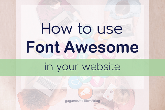 How to Use Font Awesome in your Website