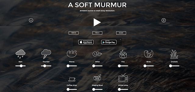 A Soft Murmur website image